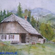 Altes Haus am Scheider Sattel